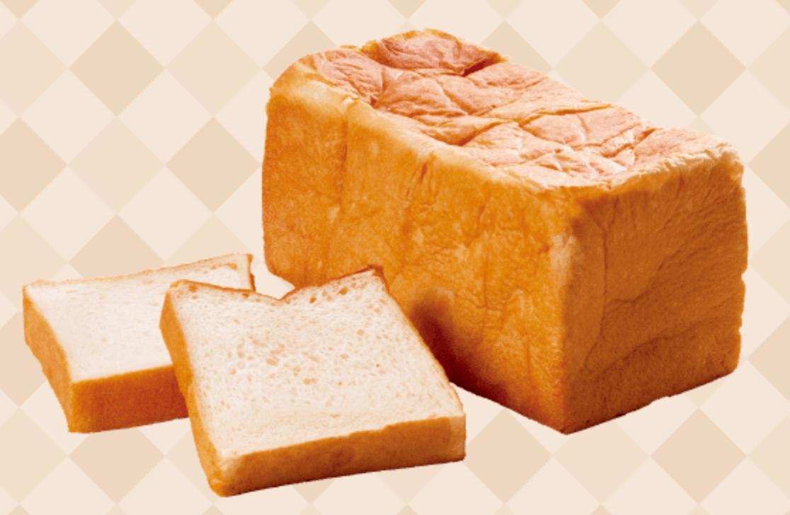 ほほえみ返し/プレーン食パン